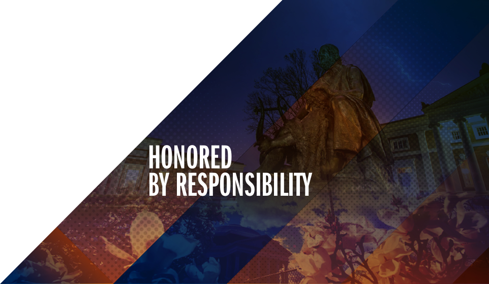 We Are Honored by Responsibility