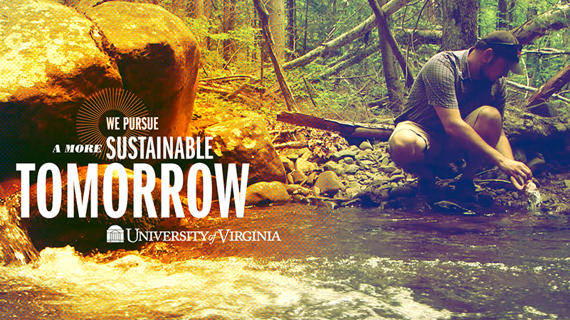 We Pursue a More Sustainable Tomorrow, UVA