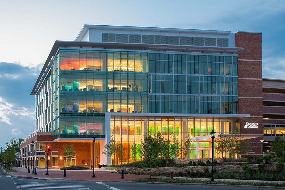 Battle Building at UVA Children's Hospital