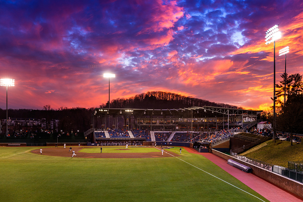 Davenport Field at the UVA Baseball Stadium